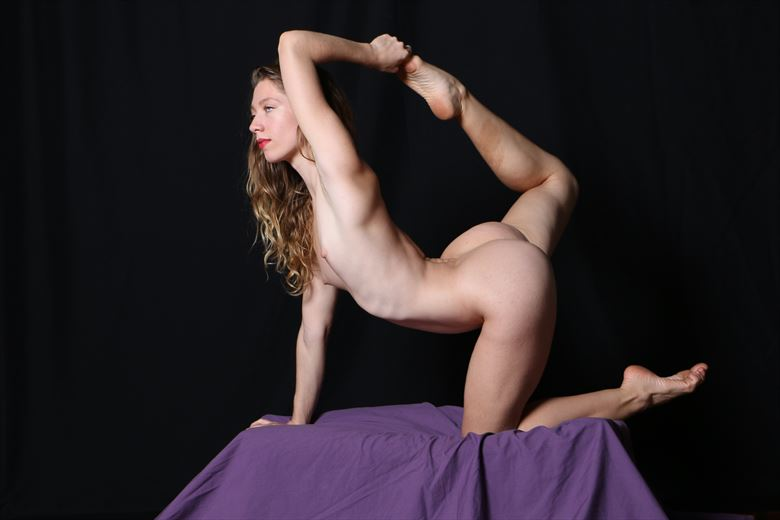 poppyseed muse artistic nude photo by photographer robert l person