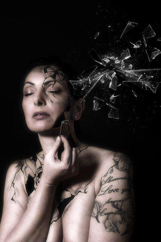 portrait artistic nude photo by model annalisa model