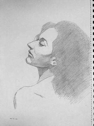 portrait expressive portrait artwork by artist rickgordon