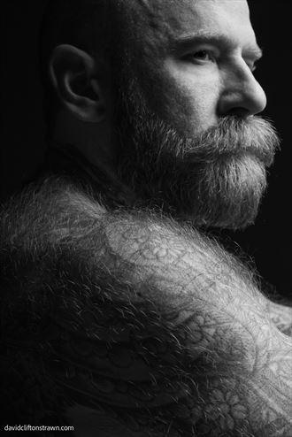 portrait of adult entertainer jack dixon chiaroscuro photo by photographer david clifton strawn