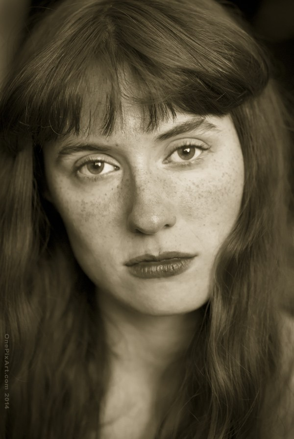 portrait of andrea Close Up Photo by Photographer OnePixArt