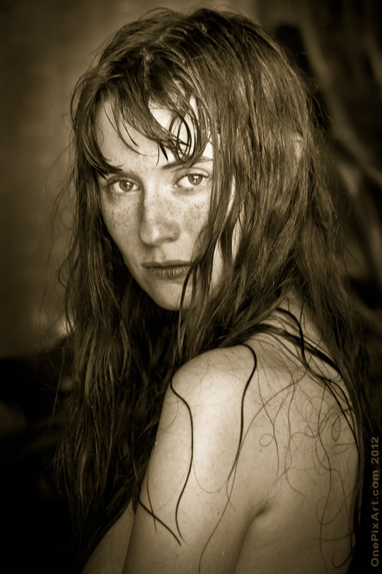 portrait of andrea Implied Nude Photo by Photographer OnePixArt