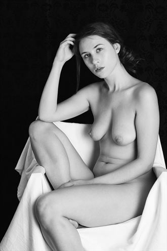 portrait of astrid artistic nude photo by photographer thebody photography