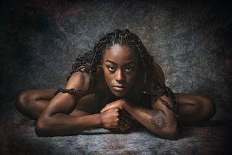 portrait of mherla expressive portrait artwork by photographer fischer fine art