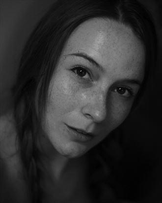 portrait photo by model alicia dawn