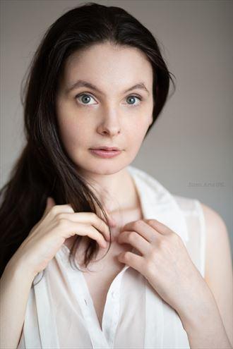 portrait photo by model fizzy