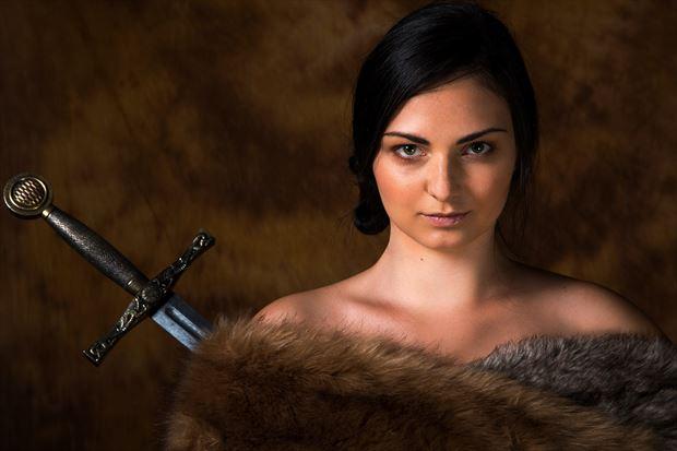 portrait photo by model lisa elias