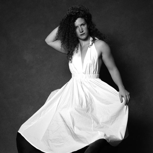 portrait photo by model madeline reynolds