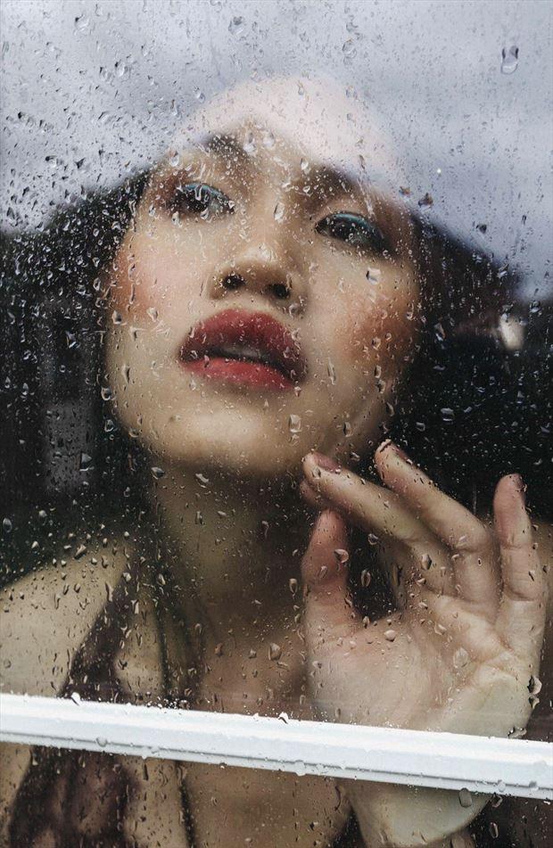 portrait photo by model quinnl