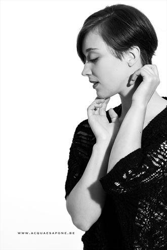 portrait sensual artwork by model j k model