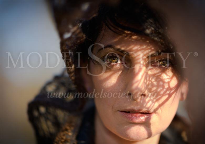 portrait sensual photo by model annalisa model