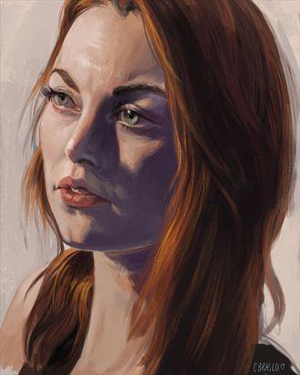 portrait study portrait artwork by artist craig brasco