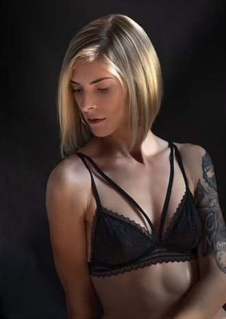 portrait tattoos photo by model cherish a travnick