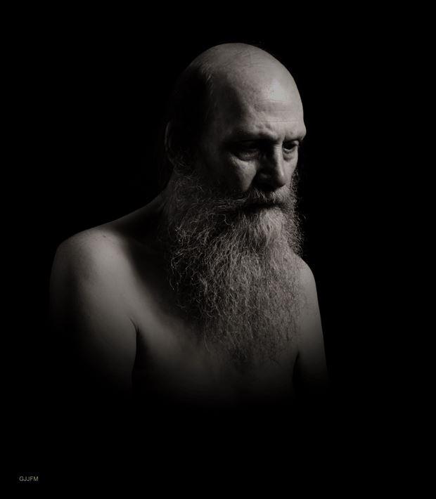 portret studio lighting photo by model gerardm