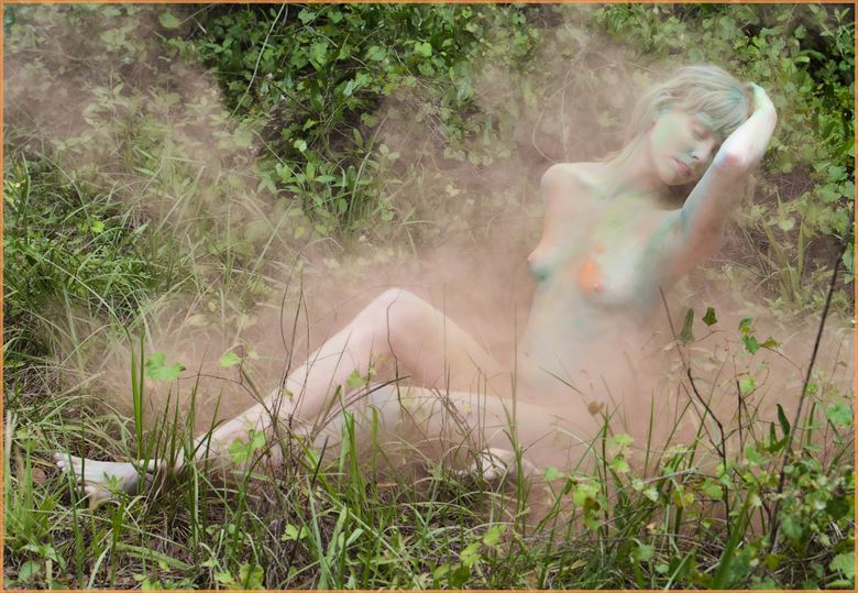 powder perfect artistic nude photo by photographer dpaphoto