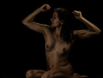 power and strength in confidence figure study photo by photographer rahkmo_photography