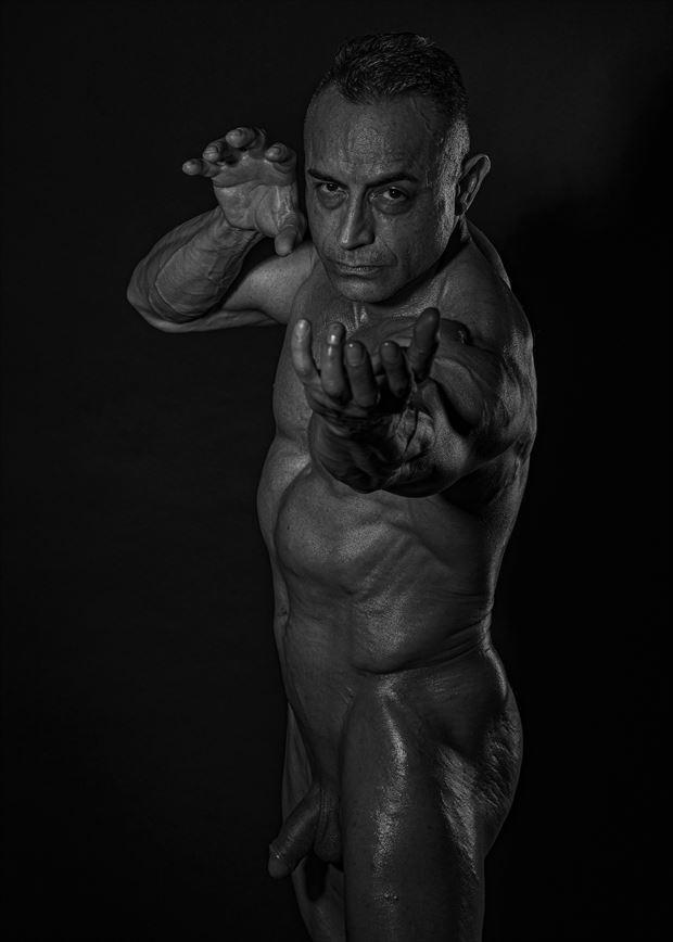 power artistic nude artwork by photographer photo kubitza