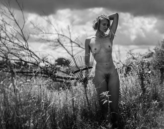 prairie reflections artistic nude photo by photographer dave earl