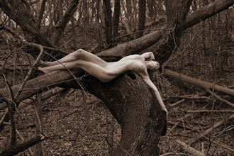 prairie rose state park ia artistic nude photo by photographer ray valentine