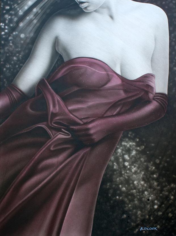 premier sensual artwork by artist a d cook
