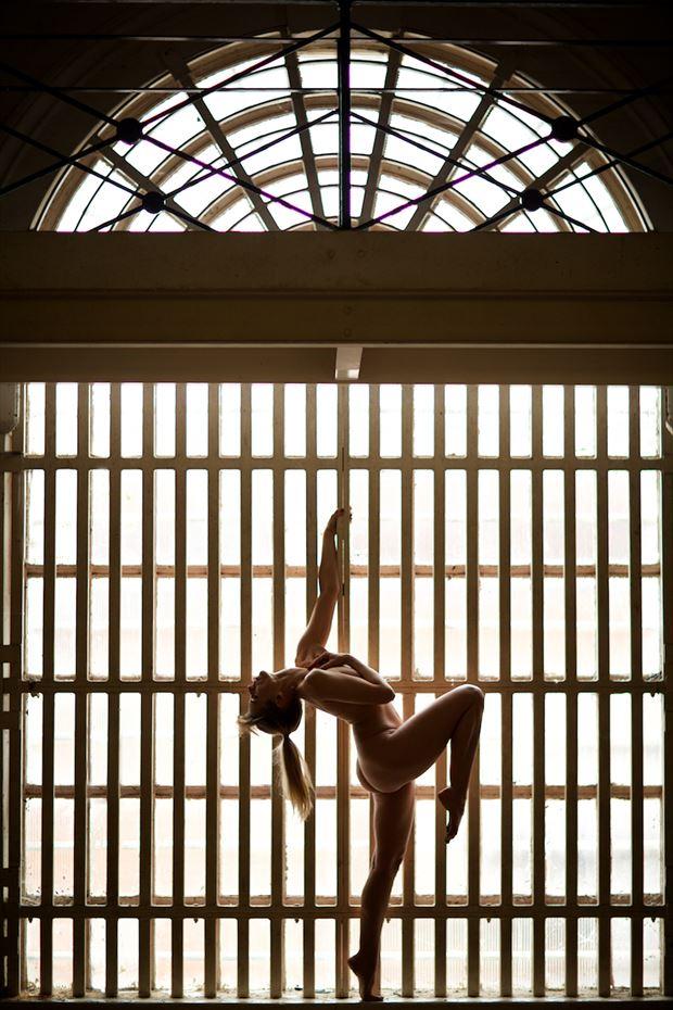 prison break artistic nude photo by model selkie