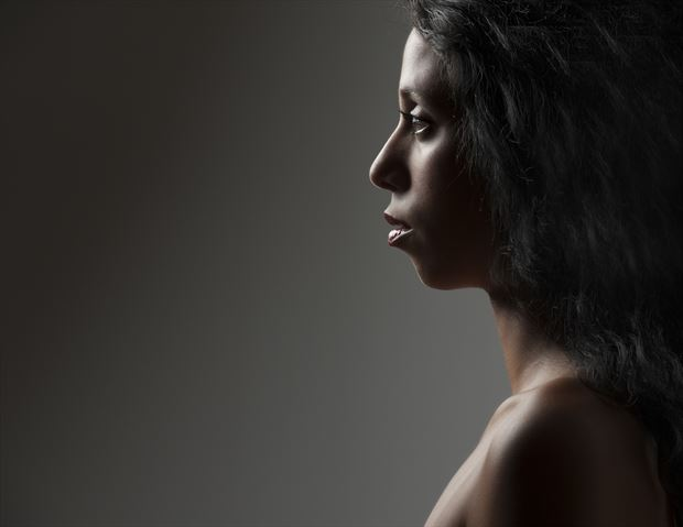 profile of marie silhouette photo by photographer dlevans