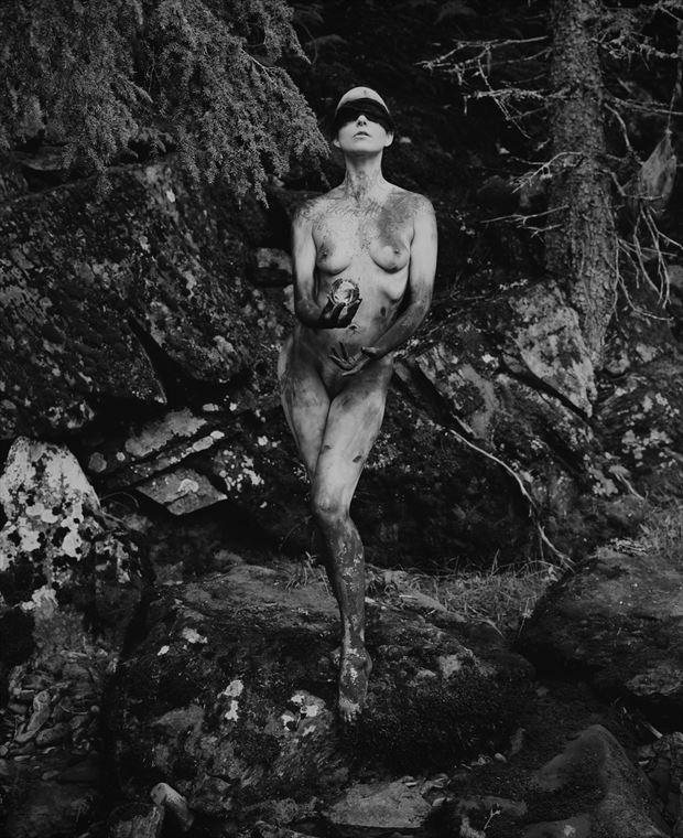 pythia ii artistic nude artwork by photographer christopher ryan