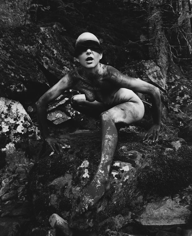 pythia iii artistic nude artwork by photographer christopher ryan