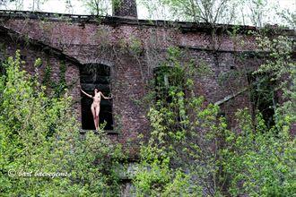 queen of my castle artistic nude photo by model nelenu