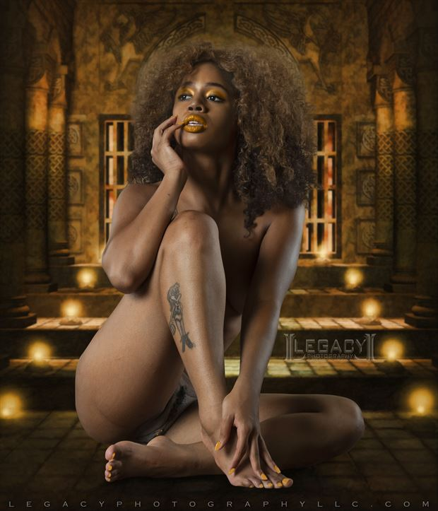 queen of the nile artistic nude photo by photographer legacyphotographyllc