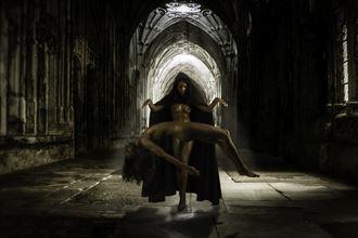 raise yourself artistic nude photo by photographer paul brady