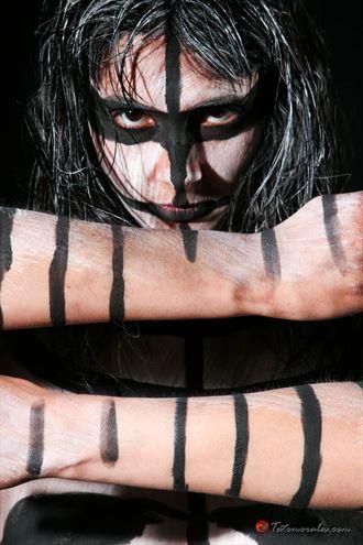 rakel body painting photo by photographer tato morales