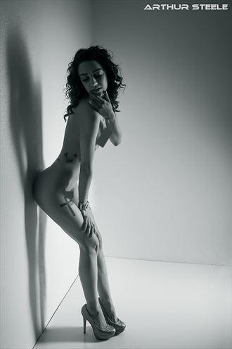 randee in the box artistic nude photo by photographer arthur_steele