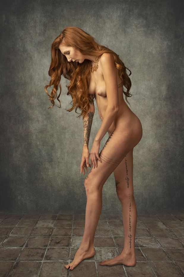 raynn beau joy artistic nude photo by photographer tom gore