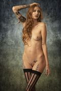 raynn beau joy artistic nude photo by photographer tom gore