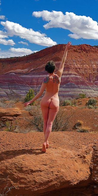 reach for the stars artistic nude photo by photographer shootist
