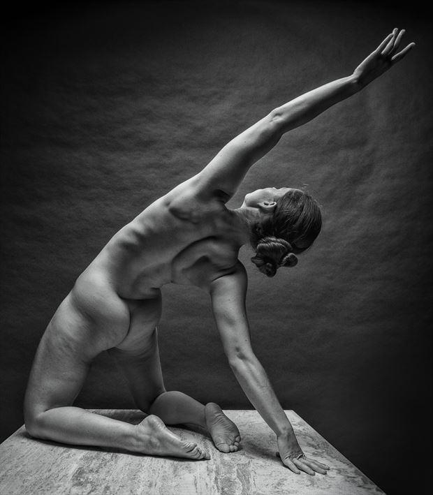 reach high artistic nude photo by photographer rick jolson