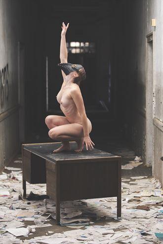reaching artistic nude photo by photographer josephbowman
