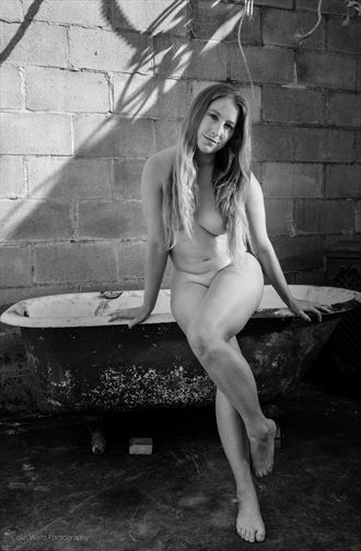 ready for a bath artistic nude photo by photographer colinwardphotography