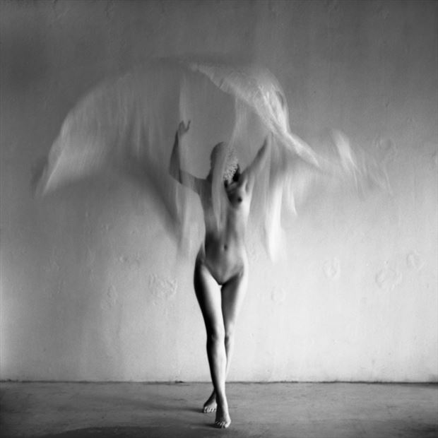 reality is optional artistic nude photo by model ahna green