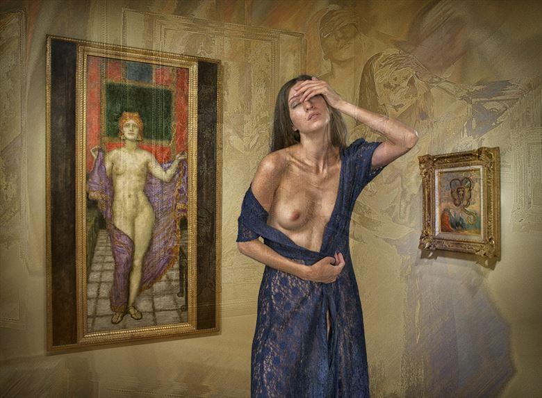 recalling von stuck s women artistic nude photo by photographer tom gore