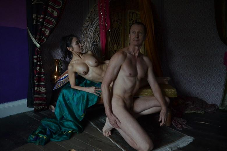 reclining  Artistic Nude Artwork by Model david51
