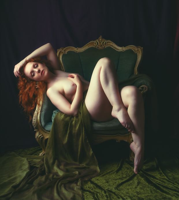 reclining nude artistic nude artwork by photographer neilh