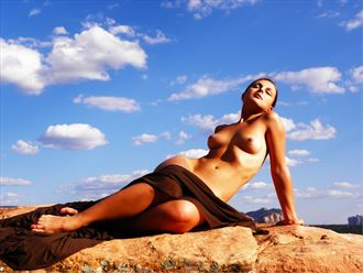 reclining nude artistic nude photo by photographer lugal