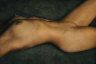 reclining nude torso artistic nude photo by photographer vincent isner