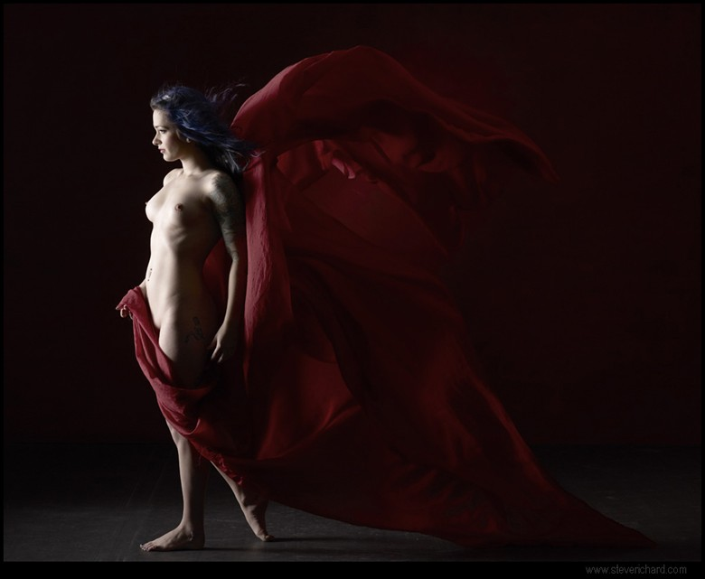 red 2 Artistic Nude Photo by Photographer Steve Richard