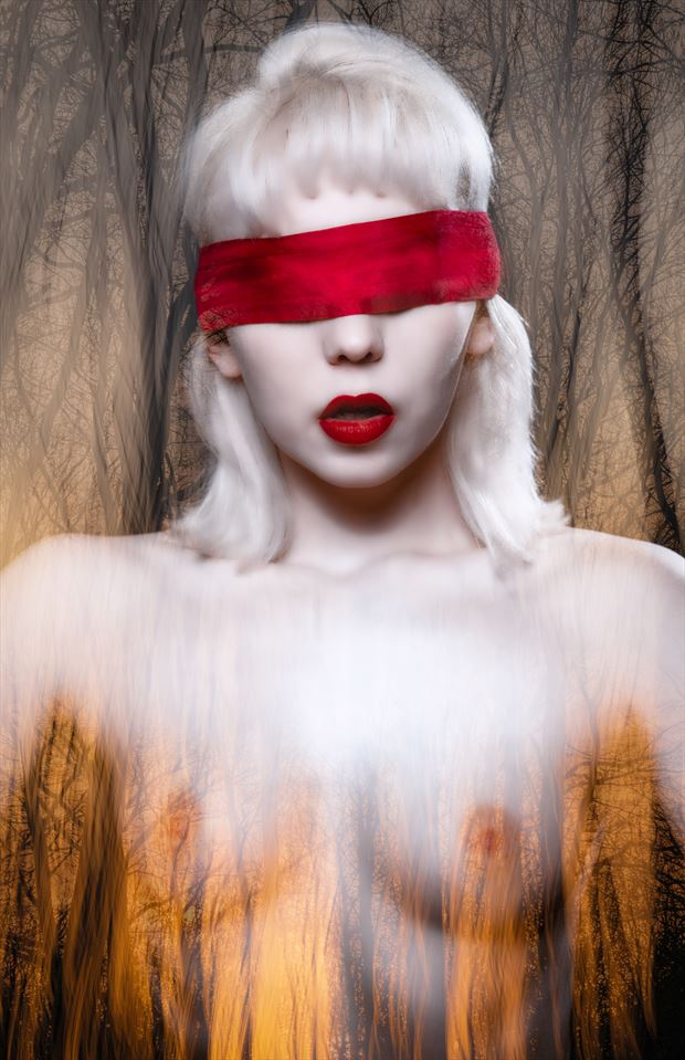 red hot erotic photo by photographer colin dixon