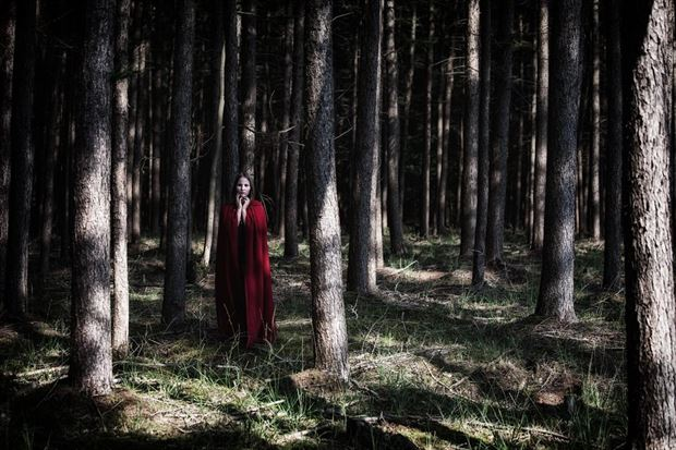 red riding hood 2 fantasy photo by photographer marc schoonackers