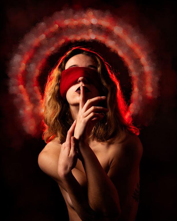 red secrets studio lighting photo by photographer musingeye