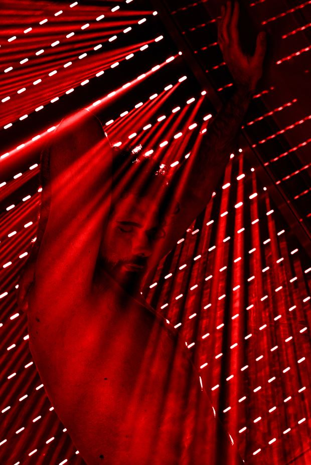 red tempest artistic nude photo by model cosmopolitano